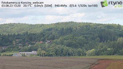 Webkamera na Končinách